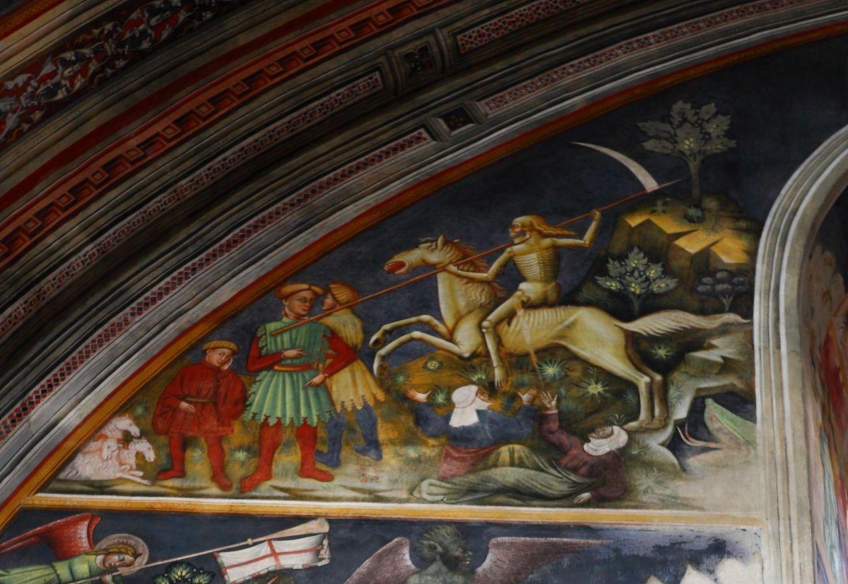 Galatina. La Basilica di Santa Caterina e l'Apocalisse.