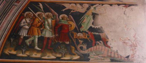 2 angeli ai lati e Michele Ap 7 - Ap 12.7